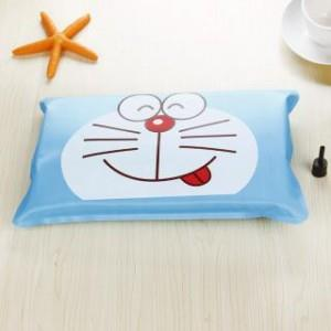 [EH1089-17571L-BD] Cute Summer Cartoon Cool Ice Pillow-L-Blue Doraemon