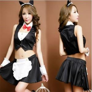 [EH1139-17632] Cute Temptation Maid Wear 5 pcs