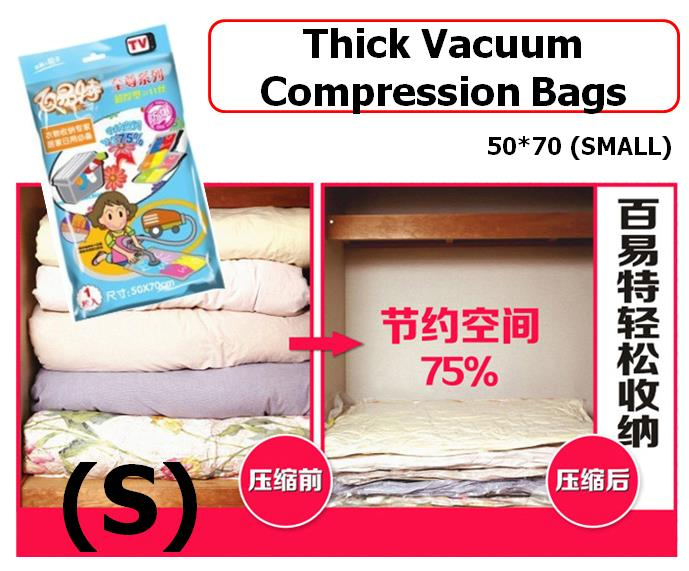 [EH348-15277] Esther Thick Vacuum Compression Bags 50x70 (S)