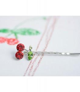 [EH636-16980] Korea-style Lovely Cherry Hair Pin