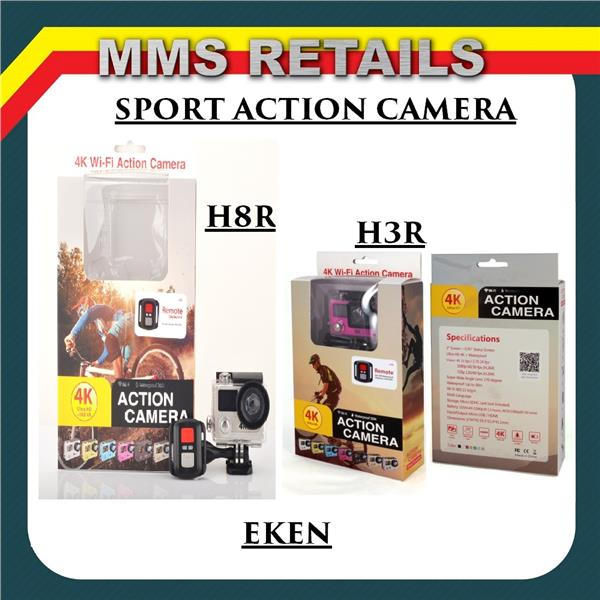 EKEN H9 H8R H3R 4K Ultra HD WiFi Action Camera Waterproof Sport Cam