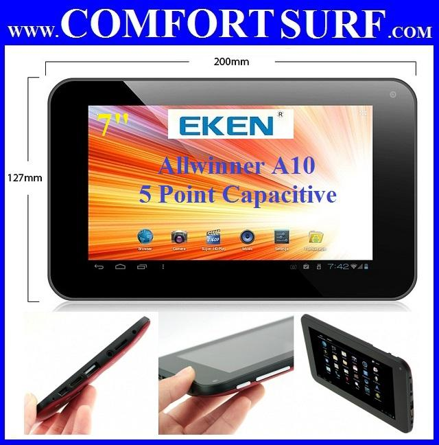 EKEN T01A Boxchip A10 1.5GHz Android 4.03 ICS Tablet PC Chuwi V7 V8