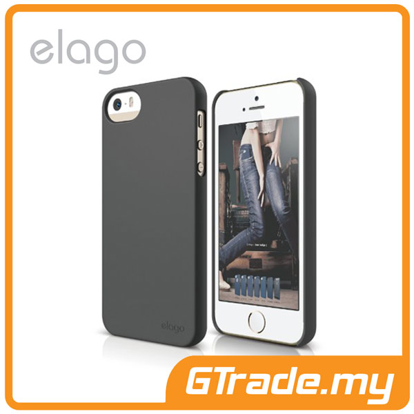 ELAGO S5 Slim Fit 2 Case | Apple iPhone 5S 5 - Grey