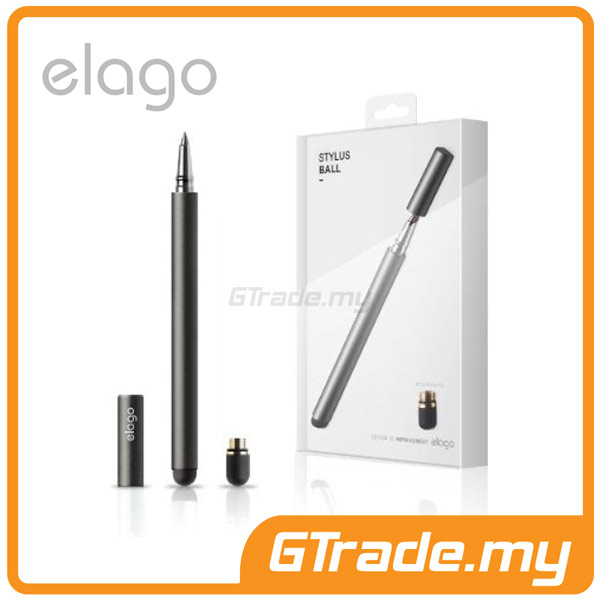 ELAGO Stylus Ball |Samsung Galaxy Note Tab S5 S4 7.0 10.1- Black