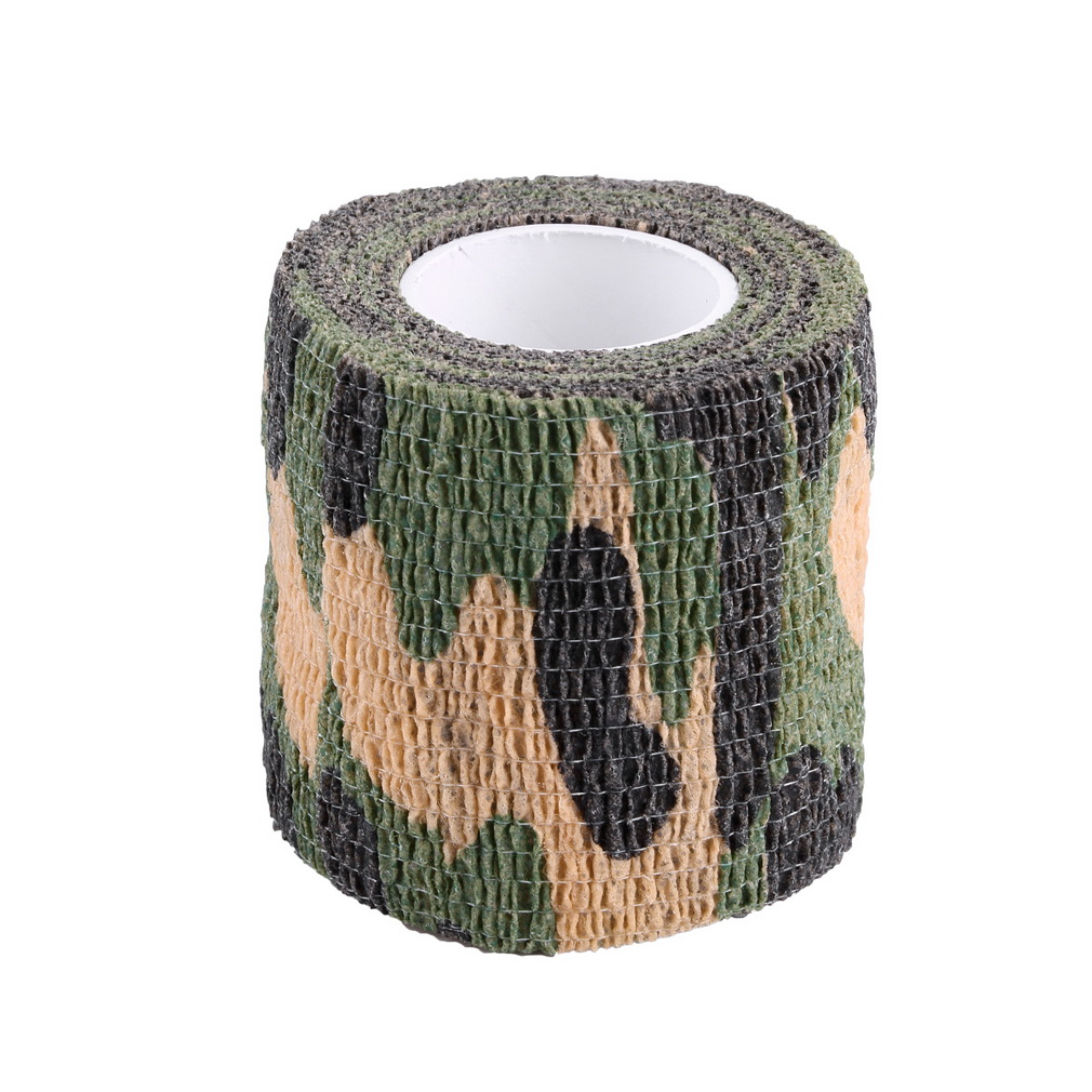 Elastic Camouflage Waterproof Outdoor Hunt Camping Stealth Camo Wrap T..