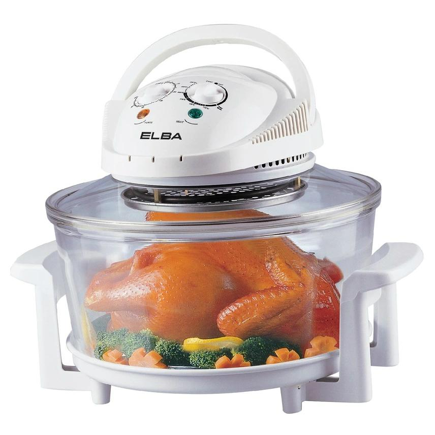 ELBA ECO-E1216(WH) Halogen Convection Oven 12L
