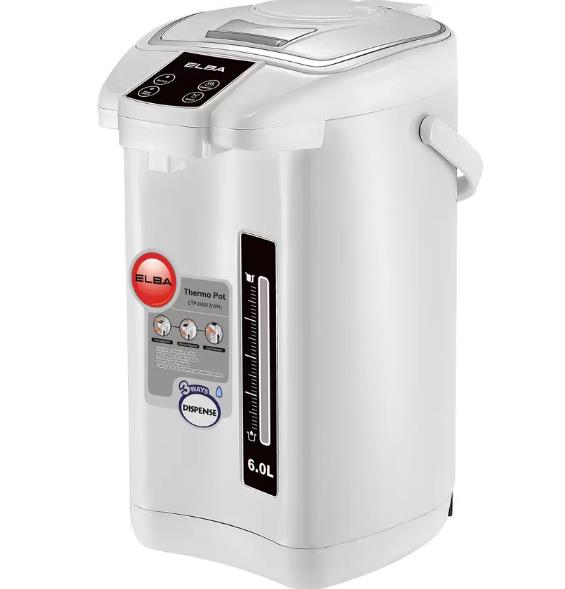 Elba ETP D6013 Thermo Pot with 3 Ways Water Dispense and Dry-boiled