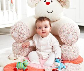 ELC BLOSSOM FARM SIT ME UP COSY WHITE DILLON