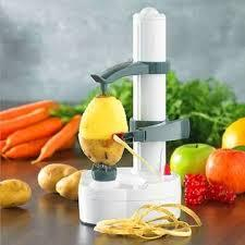 Electric Auto Rotating Potato Peeler Pear Apple Fruit Vegetable Cutter