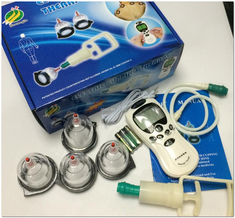 Electric Chinese Cupping Therapy Traditional Medical HealthAcupuncture