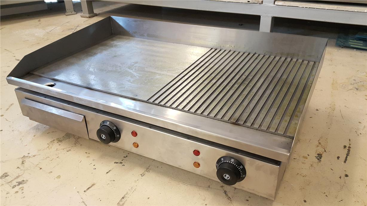 Electric Half-Grooved Griddle GH-822 ID557965