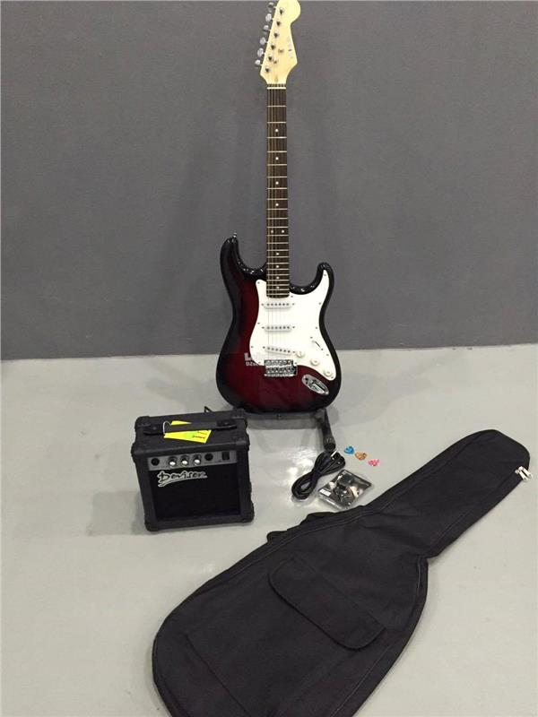Electric Guitar gitar letrik with amp package