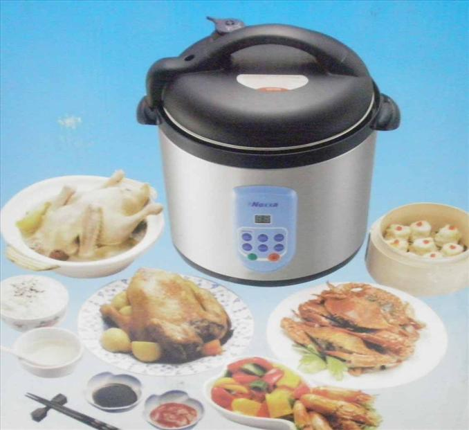 ELECTRIC MULTIFUNCTION PRESSURE COOKER