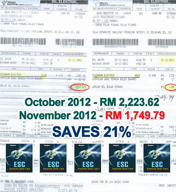 Electricity Saver Card. Save 10-30% of your Electricity Bill