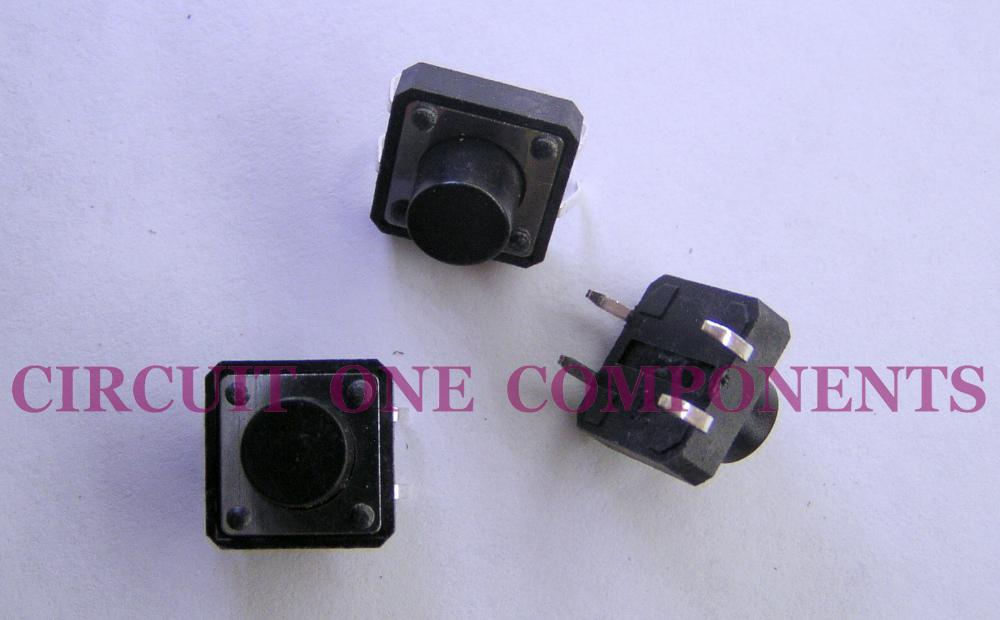 Electronic Component 12x12x8mm Tact Switch - each