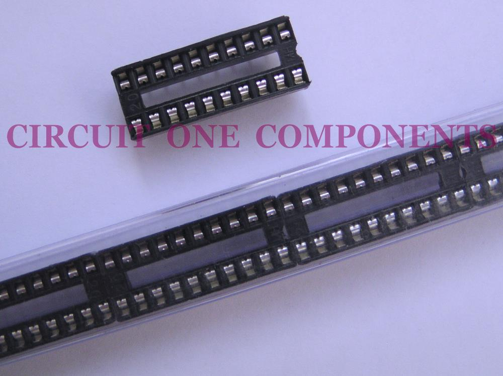 Electronic Component - 20 pin DIL IC Holder - each