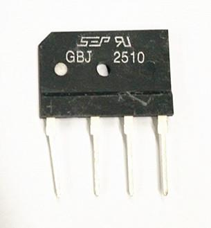 Electronic Component - Bridge Rectifier GBJ2510 25A1000V*