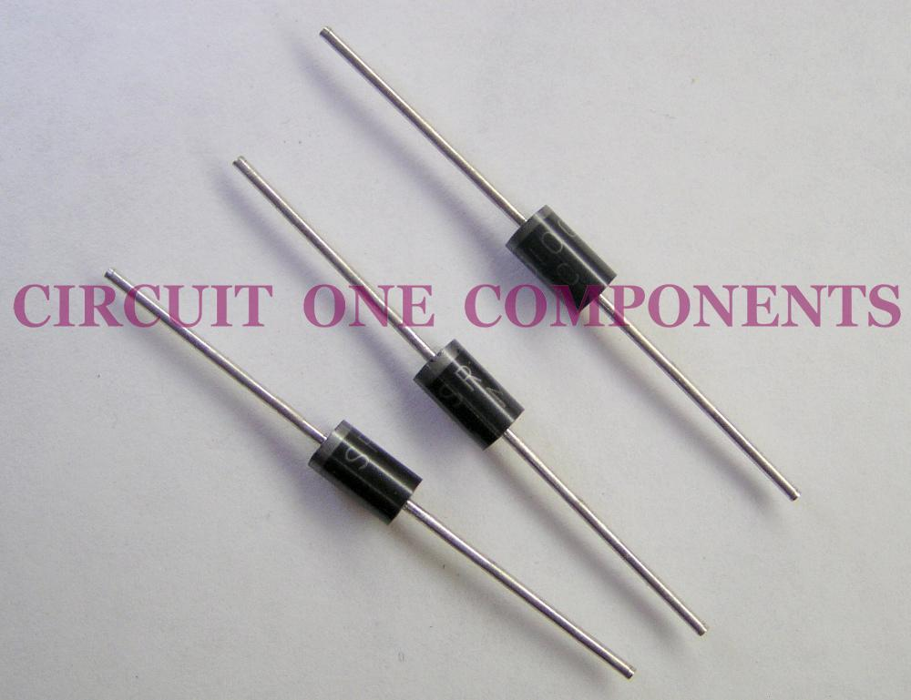 Electronic Component SR5100 Schottky Rectifier - each