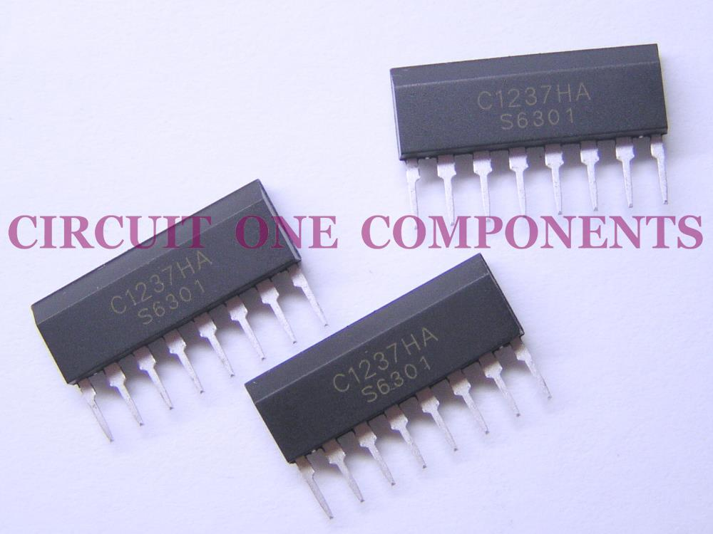 Electronic Components - C1237HA Speaker Protector IC - Each