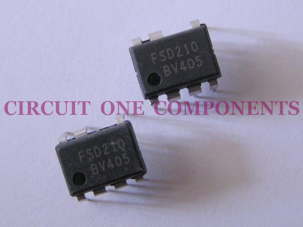 Electronic Components - FSD210 ICs - Each