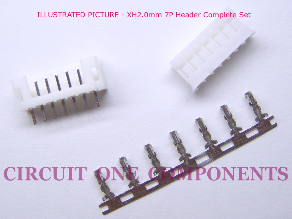 Electronic Components - XH2.0mm 6P Header - Each