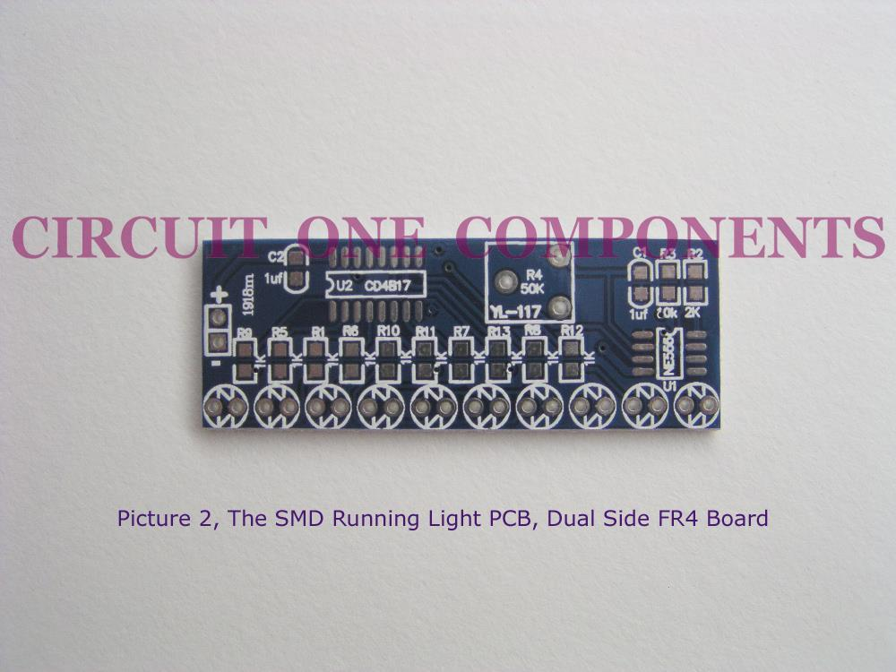 Electronic Kit - 10 channel SMD LED Running Lights -  Each