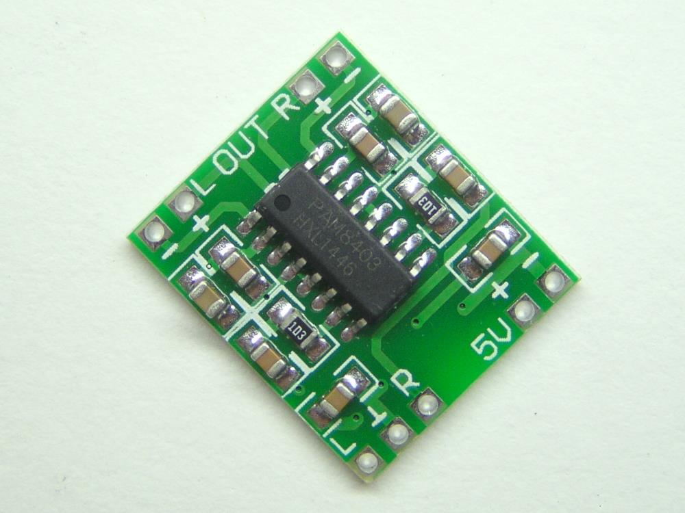 Electronic Module - PAM8403 Audio Amplifier - Each