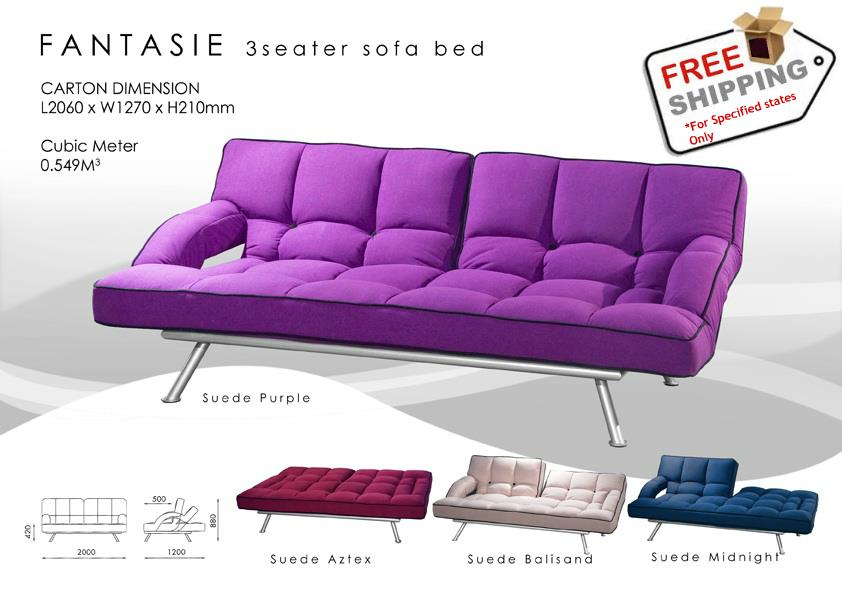 Elegant 3 Seater Sofa Bed Convertib End 12 13 2017 1 15 PM