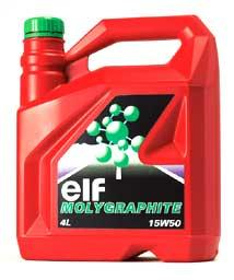 ELF Molygraphite Engine Oil 15W50 4L