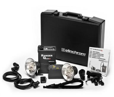 Elinchrom Quadra Hybrid Pro Set A Heads with Lithium-Ion Batteries