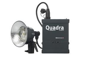 Elinchrom Quadra Hybrid Standard Set A Head with Lithium-Ion Battery