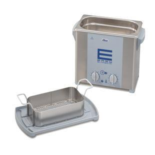 Elmasonic, Ultrasonic bath, 37kHz, 2.75L, with cover and basket
