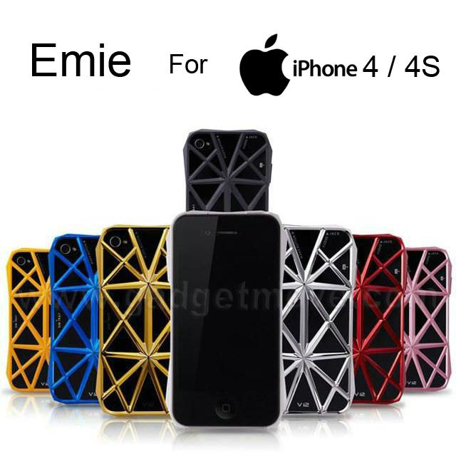 EMIE iPhone 4 / 4S border shell Back Cover Case SGP TPU  Shield