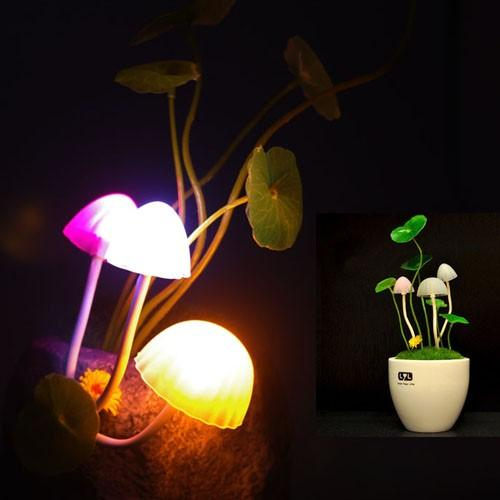 Energy-saving Colorful LED Mushroom Lamp with Super Lifespan