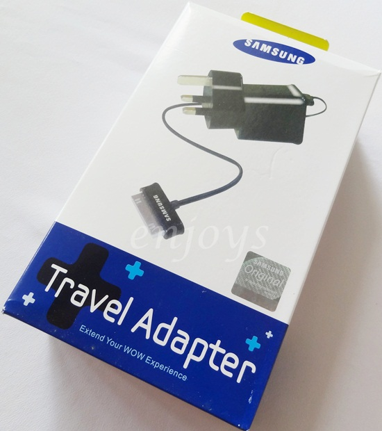 Enjoys: 2in1 Charger Samsung P1000 Galaxy TAB 2 7.0 7.7 8.9 10.1 ~3Pin