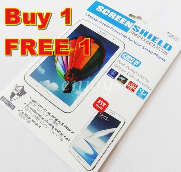 Enjoys: 2x DIAMOND Clear LCD Screen Protector Huawei MediaPad M1 8.0