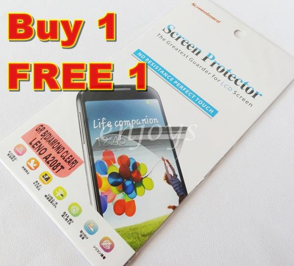 Enjoys: 2x DIAMOND Clear LCD Screen Protector for Lenovo A208T