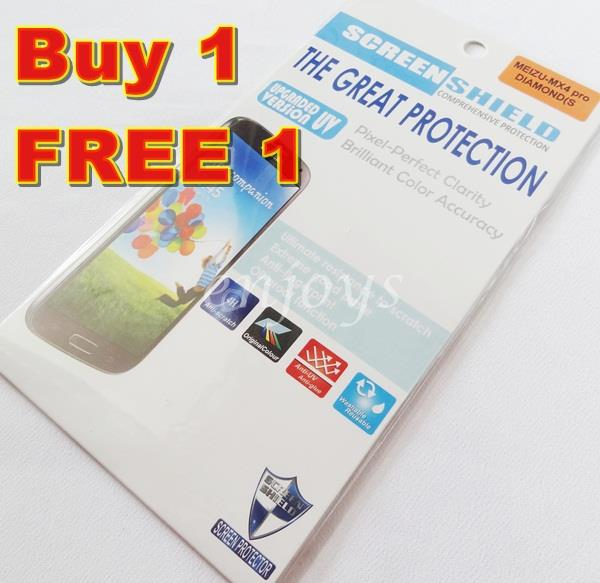 Enjoys: 2x DIAMOND Clear LCD Screen Protector for Meizu MX4 Pro