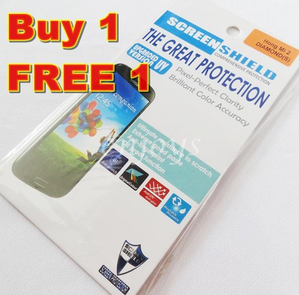Enjoys: 2x DIAMOND Clear LCD Screen Protector Xiaomi Redmi 2 /Hongmi 2