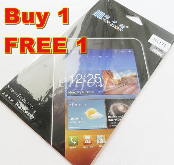 Enjoys 2x MATTE LCD Screen Protector Samsung P6200 Galaxy Tab 7.0 Plus