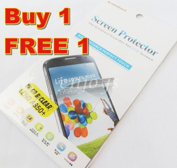 Enjoys: 2x Ultra Clear LCD Screen Protector Lenovo A850+ / A850 Plus