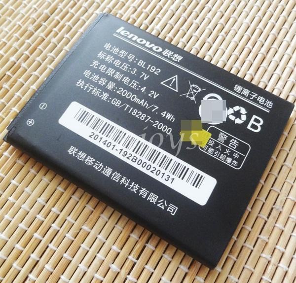 Enjoys: AA OEM Battery BL192 for Lenovo A388T A529 A680 A590 A300 A750
