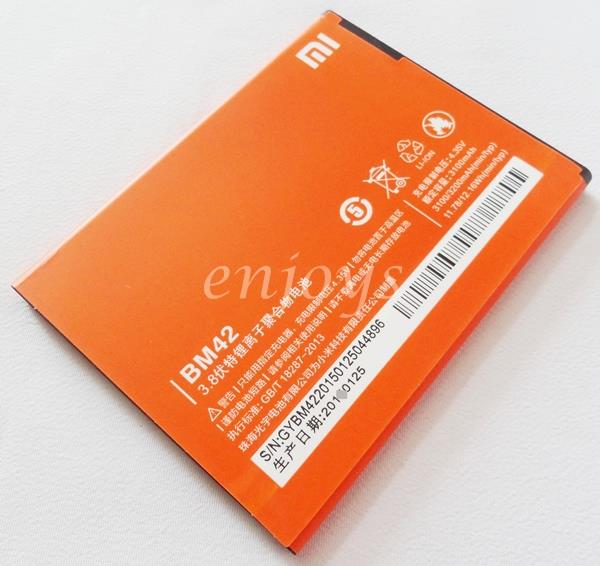 Enjoys: AA OEM Battery BM42 Battery Xiaomi Redmi Note / 4G ~3200mAh