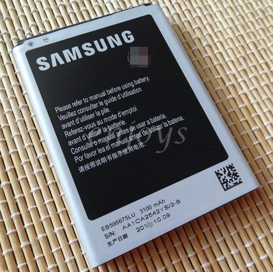 Enjoys: AA OEM Battery EB595675LU for Samsung Galaxy Note 2 II N7100