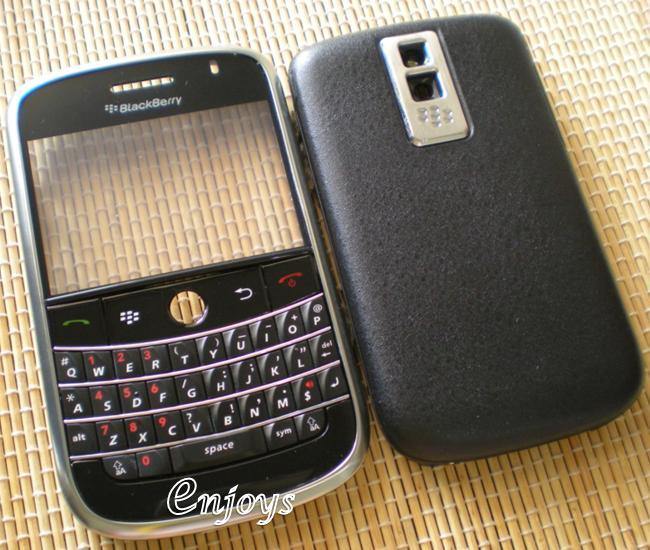 Enjoys: AP ORIGINAL HOUSING for BlackBerry Bold 9000 ~ BLACK #FullSet#