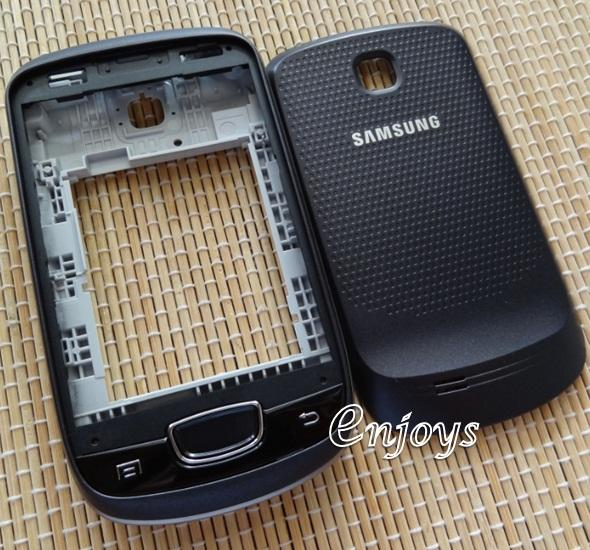 Enjoys: AP ORIGINAL HOUSING for Samsung Galaxy Mini S5570 ~BLACK #NEW#