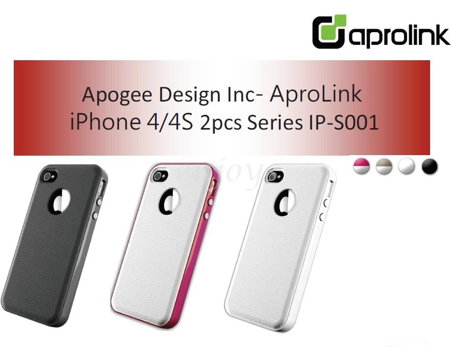 Enjoys: APROLINK IP-S001 Series Case Shell Cover iPhone 4 4S ~Washable