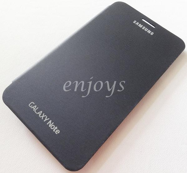 Enjoys: BLUE Flip Cover Pouch Case Samsung Galaxy Note 1 N7000 i9220