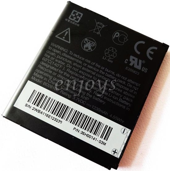 Enjoys: Genuine Battery BD26100 for HTC Desire HD /Inspire 4G ~1230mAh