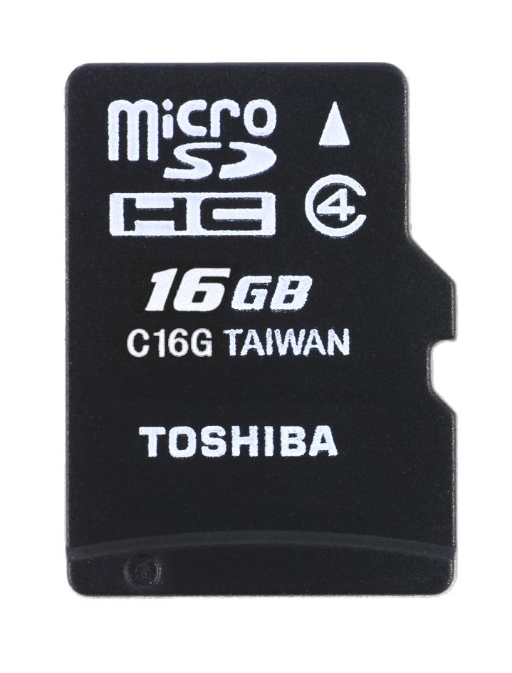Enjoys Genuine TOSHIBA 16GB Micro SD SDHC Memory Card ~Class 4 @15MB/s